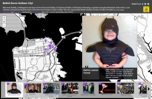 Batkid Story Map Screenshot